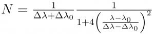 TIB formula
